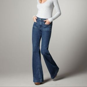 J Brand Bette High Rise Wide Leg Jeans Mystery 29